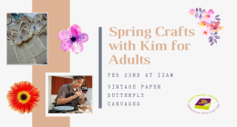 Spring Crafts with Kim for Adults sumamry image