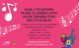 Early Starters Music Classes: 0-18 Months sumamry image