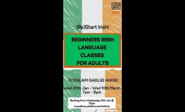 Beginners Irish Language Classes for Adults sumamry image