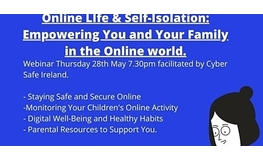 Online Life and Self Isolation: Empowering You and Your Family Online sumamry image