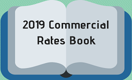 2019 Commercial Rates Book sumamry image
