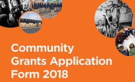 Community Grants Programme, 2018 sumamry image
