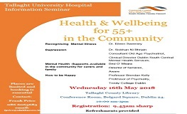 Health & Wellbeing for 55 plus in the Community  sumamry image
