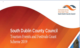 South Dublin County Council launch the Tourism Events and Festivals Grant Scheme 2019 sumamry image