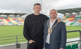 Professor Green visits South Dublin as part of FirstFortnight Festival sumamry image