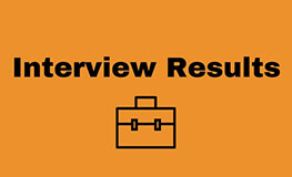 Interview Results - Assistant Planner sumamry image