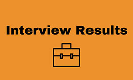 Interview Results for Graduate Scientist  sumamry image